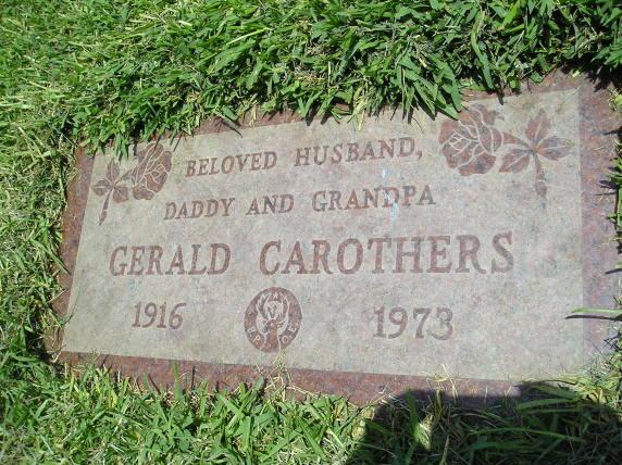 Gerald Carothers